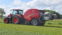 FastBale en los Grass Field Days en Dinamarca